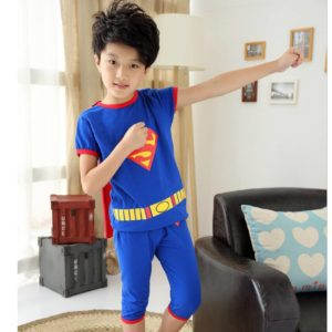 25-63-Superman Short Sleeve 2pcs