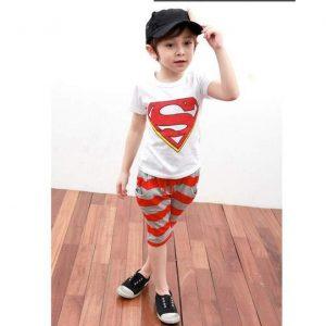 25-65-Superman Short Sleeve 2pcs
