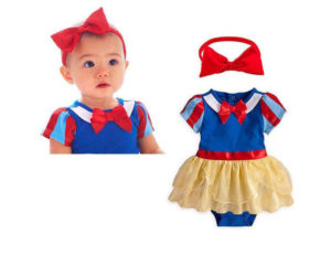 20-2-Snow White Romper With Headband