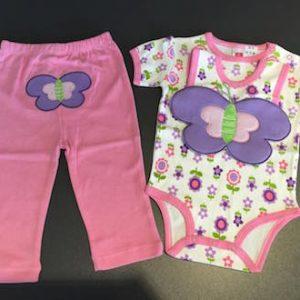 28-10-Purple Butterfly 3pcs