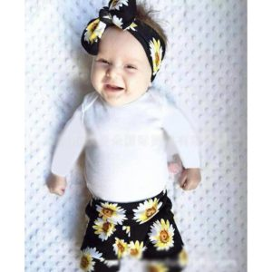 28-66-Small chrysanthemum Pants 3pcs
