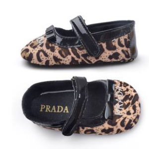 31-104-Leopard Trendy Slip Toddler Shoes