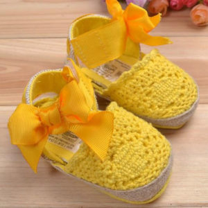 31-69-Sandals Soft Soled Shoes - Yellow