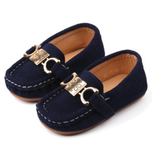 33-24-Dark Blue Peas Shoes
