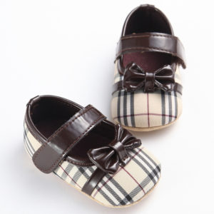 31-151-Bow soft soled shoes
