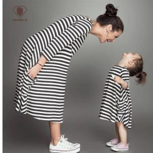 48-3-Striped Dress