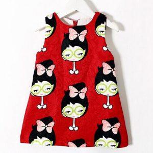 52-65-Cute red dress