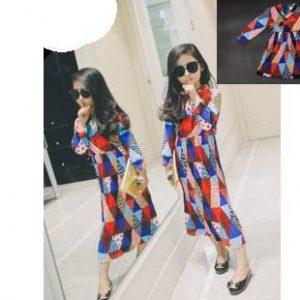 52-77-Fashion Chiffon Dress