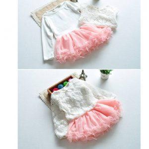 55-99-Princess Dress 2Pcs