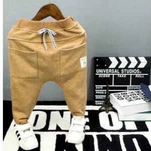 59-9-Casual pants waist belt collapse