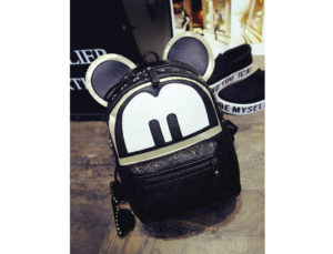 68-33- Mickey Backpack Black