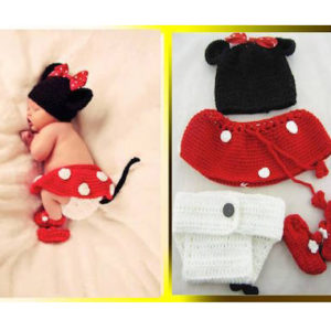 71-18 - handmade props Mickey 4pcs