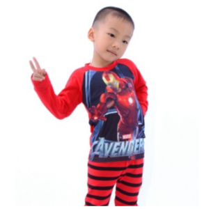 99-66-3D J2 avengers sleeve pajamas