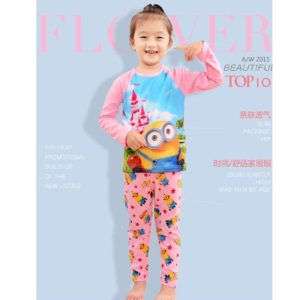 99-79-Minion Pink Pyjamas