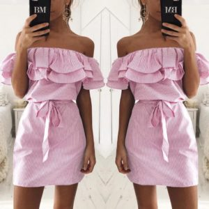 88-284-Pink Dress