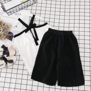 55-113-Short sleeved shirt pants 2pcs