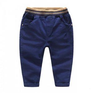59-12-Slim casual Blue pants