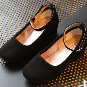 33-16-Black princess high heels