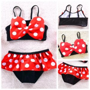 98-6-Minnie Swimsuit 2pcs