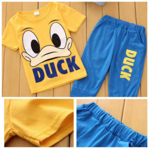 25-66-Duck Short Sleeve 2pcs