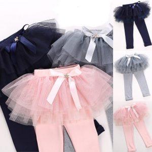 51-5-Cotton skirt leggings