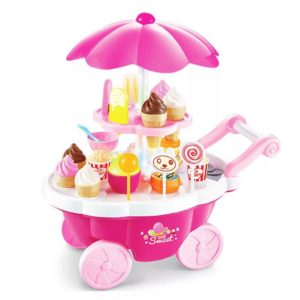67-51-Light Music Fans Grill Ice-Cream Carts