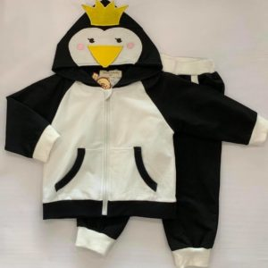 25-31-MD lovely black and white ducklings 2pcs