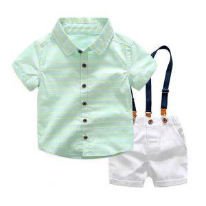 56-153-shirt strap shorts 3pcs