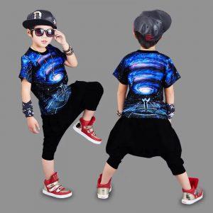 58-4-3D Big Kids Sportswear 2pcs
