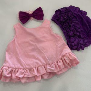 28-42-Cotton baby suit 3pcs