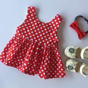 20-101-Dot red dress