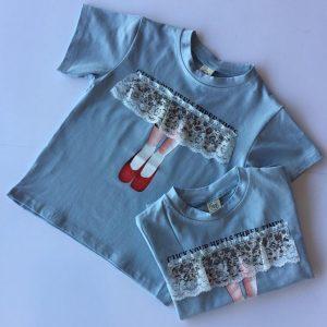 49-10-Lace matching T-shirt