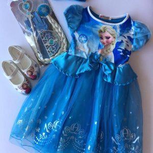 52-146-Frozen princess dress