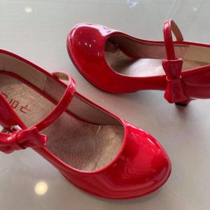 33-17-Red high heels Korean