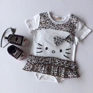 20-50-Hello Kitty Leopard Romper